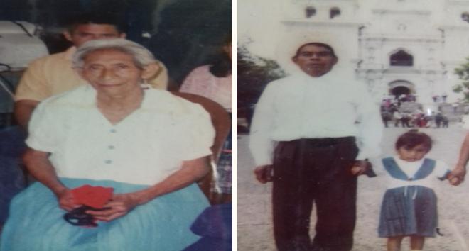 Mi madre, Laureana Gutiérrez García, y mi padre, Santiago Ramos Castillo