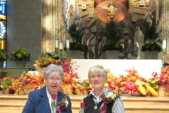 Sisters Paulette Shaunfield and Mary Patricia Driscoll