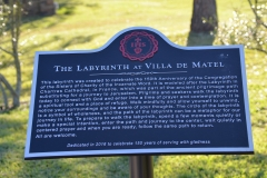 The Sign at the Entrance of the Labyrinth