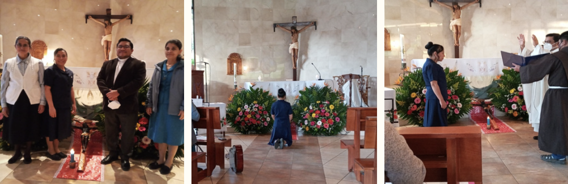 During the litanies